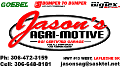 Bumper to Bumper, Jason's Agri-Motive Business For Sale