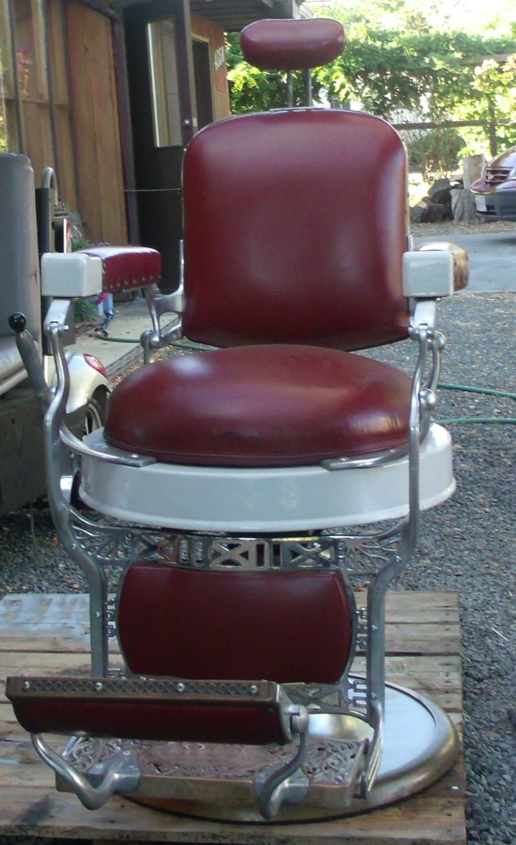 Antique Koken Barber Chair for sale, Victoria BC ? - Antique Koken Barber Chair For Sale, Victoria BC