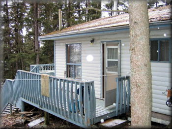 Cabin on Barrier Lake