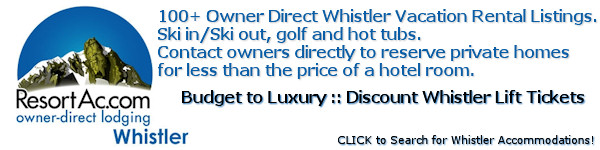 Whistler Owner Direct Accommodations